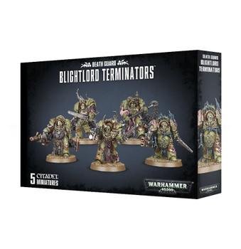43-51 Death Guard Blightlord Terminators