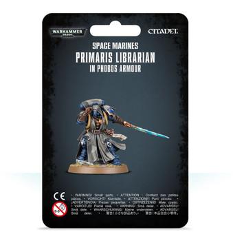 48-67 SM Primaris Librarian in Phobos Armour