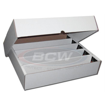 BCW Cardboard Storage Box's