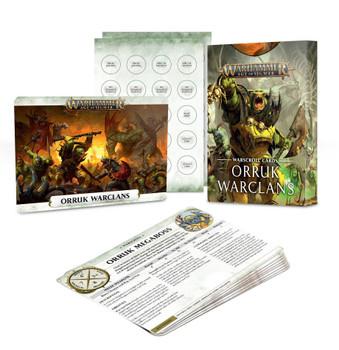 89-04-60 Warscroll Cards: Orruk Warclans