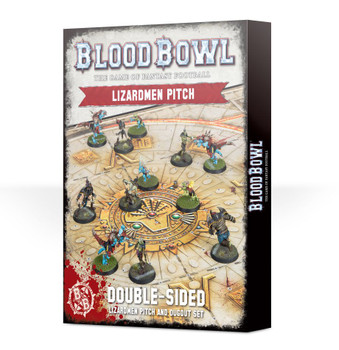 200-79 Blood Bowl: Lizardmen Pitch & Dugouts