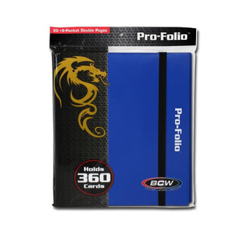 BCW Pro-Folio LX Blue
