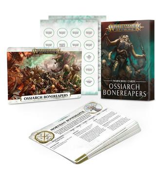 94-02-60 Warscroll Cards: Ossiarch Bonereapers