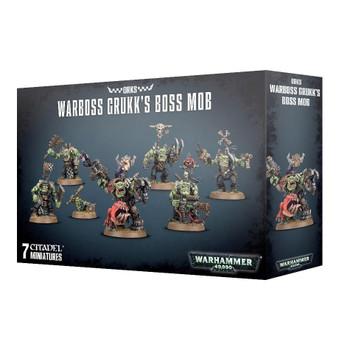 50-32 Warboss Grukk's Boss-Mob