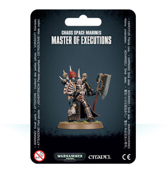 43-44 Chaos Space Marine Master of Executions