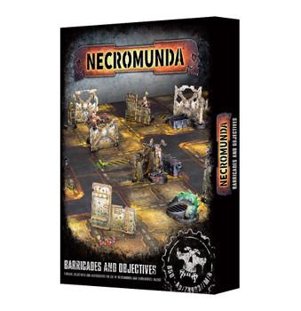 300-04 Necromunda Barricades & Objectives