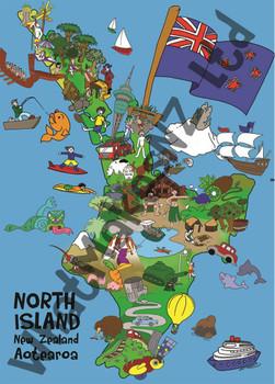 North island 100pc Puzzle