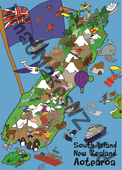 South Island 100pc Puzzle