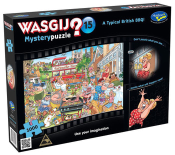 Wasgij? #15 Mystery Puzzle 1000pc - Typical British BBQ