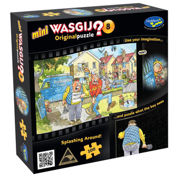"""""""Wasgij? Mini 8 Puzzle 100pc - Splashing Around!"""
