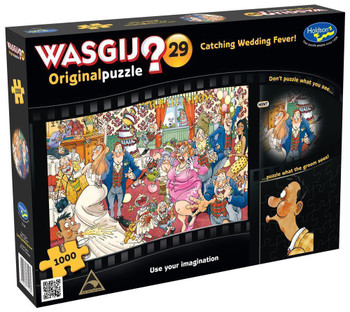 Wasgij? #29 Original Puzzle 1000pc - Catching Wedding Fever