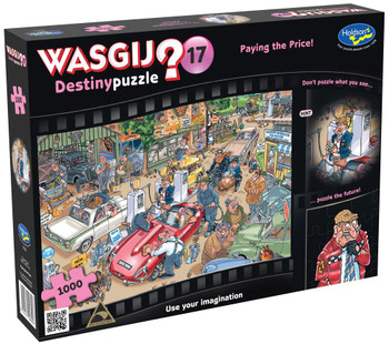 Wasgij? #17 Destiny Puzzle 1000pc - Paying the Price