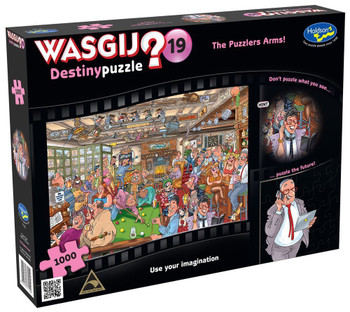 Wasgij? #19 Destiny Puzzle 1000pc - The Puzzlers Arms
