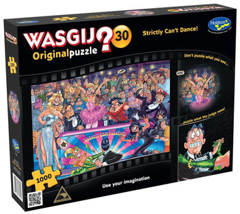Wasgij? #30 Original Puzzle 1000pc - Strictly Can't Dance