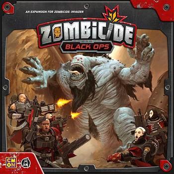 Zombicide Invader Black Ops