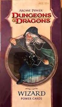 Arcane Power Wizard Power Cards