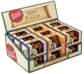 GREAT MINDS MINI WOOD Puzzles