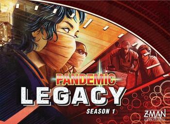 Pandemic Legacy Red Box