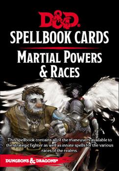 D&D: Spellbook Cards: Martial Deck
