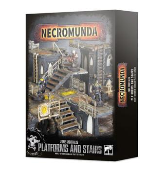300-49 Necromunda ZM: Platforms & Stairs
