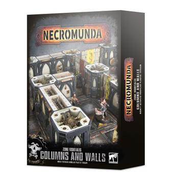 300-48 Necromunda ZM: Columns & Walls