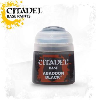 21-25 Citadel Base: Abaddon Black