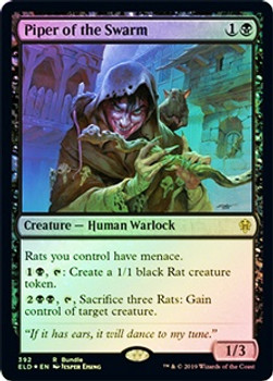 Piper of the Swarm & Foil Land Pack