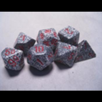 Speckled Granite Polyhedral 7-Die Set