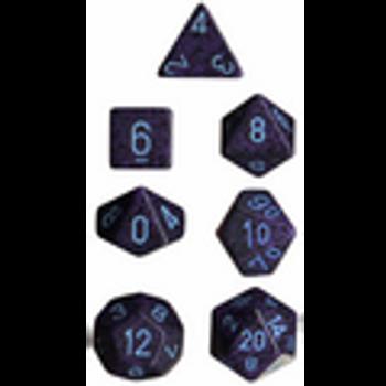 Speckled Cobalt Polyhedral 7-Die Set