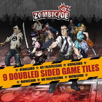 Zombicide: Double Sided Game Tiles
