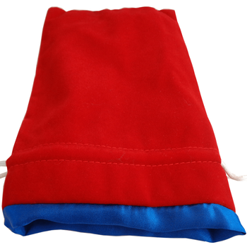 """MDG 6""""x8"""" Velvet Dice Bags with Satin Lining"""