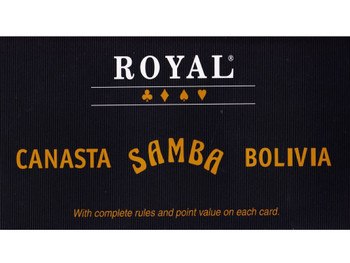 Samba, Canasta & Bolivia playing cards