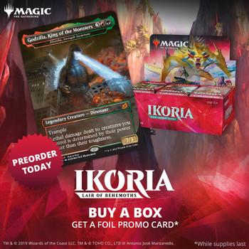 Ikoria: Lair of the Behemoths Draft Booster Box