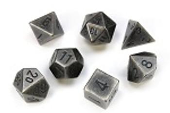 Metal (Dark Metal) Dice Set