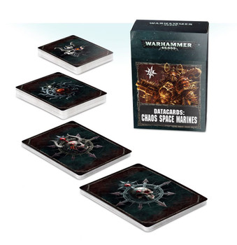 43-02-60 Chaos Space Marine Datacards