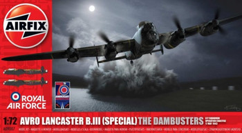 Avro Lancaster BIII (Special) The Dambusters 1:72 Scale Model Kit
