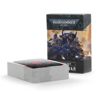 40-20 WH 40K: Mission Pack Open War Cards