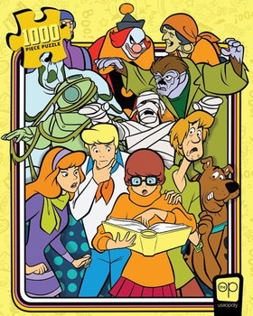 Scobby Doo Those Meddling Kids 1000 Piece Puzzle