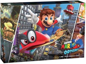 Super Mario Odyssey Snapshots 1000 Piece Puzzle