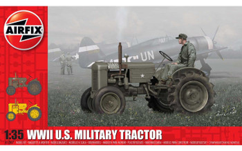 WWII U.S. Military Tractor 1:35 Scale Model Kit