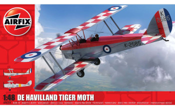 De Havilland DH.82a Tiger moth 1:48 Scale Model Kit