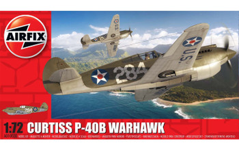 Curtiss P-40B Warhawk 1:72 Scale Model Kit