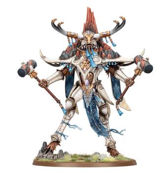 87-56 Lumineth Realm-Lords: Avalenor The Stoneheart King