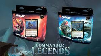 Commander Legends Commander Decks