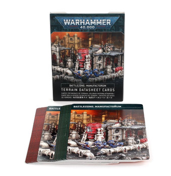 40-14 Battlezone Manufactorum Datasheet Cards