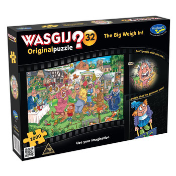 Wasgij? #32 Original Puzzle 1000pc - Big Weigh In
