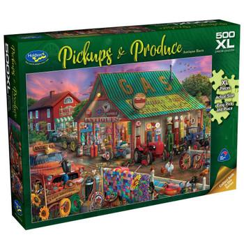 Pickups & Produce 500pc XL Puzzle - Antique Barn