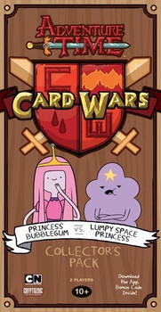 Adventure Time Card Wars Bubblegum vs Lumpy Space