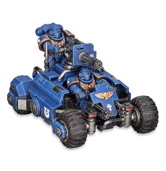 48-50 Space Marines Primaris: Invader ATV