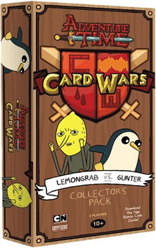 Adventure Time Card Wars: Lemongrab vs Gunter